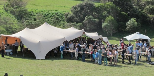 Stretch tents and marquee dry hire