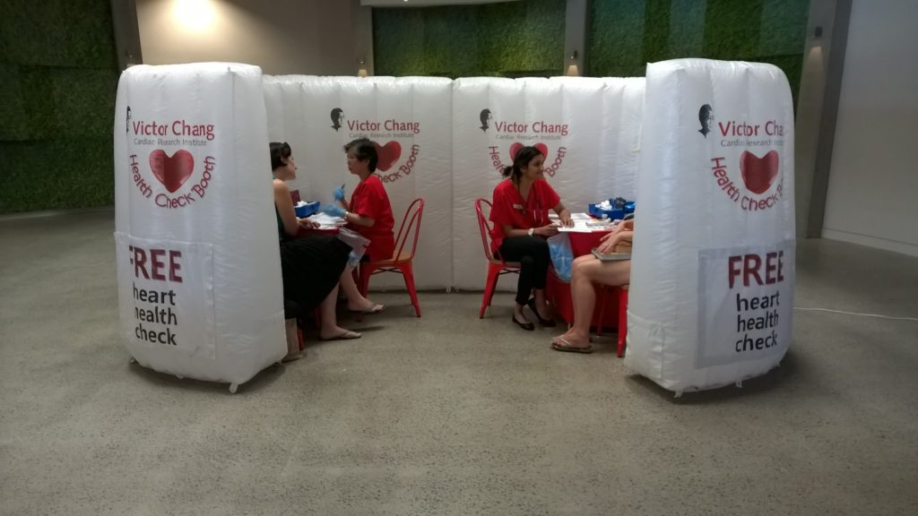 Inflatable structures - Pop up booth