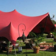 stretch tent for ambience