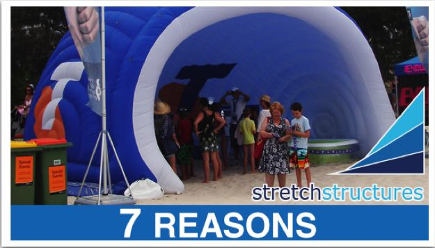 7 reasons for using inflatable structures