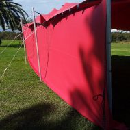 stretch tent side walls