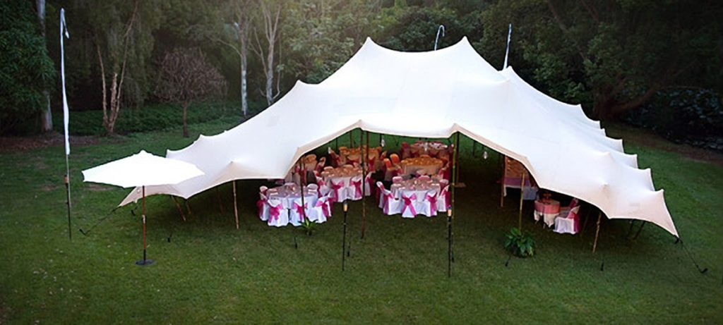 WHAT IS A STRETCH TENT?