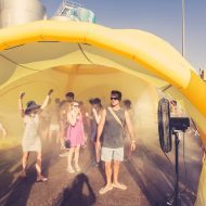 Branded Inflatable Misting Tunnel