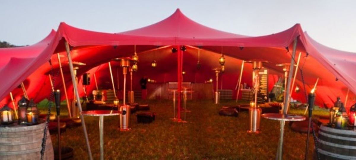 Contact us for a free quote & What is a Stretch Tent?