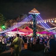 Festive Stretch Xmas Tent - Christmas Event Structures