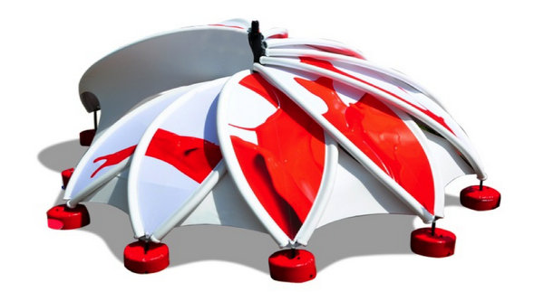 Axion Flower Inflatable Stretch Structures