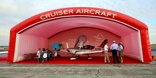 Cruiser Aircraft Inc - Custom Inflatable Hangar
