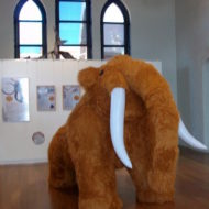 Inflatable Mammoth - Australian Fossil and Mineral Museum