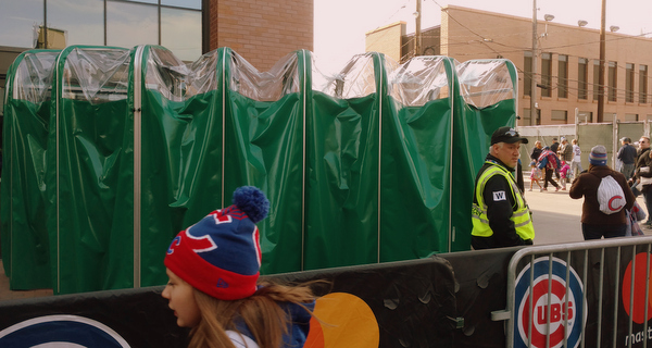 Chicago Cubs Retractable Tunnel