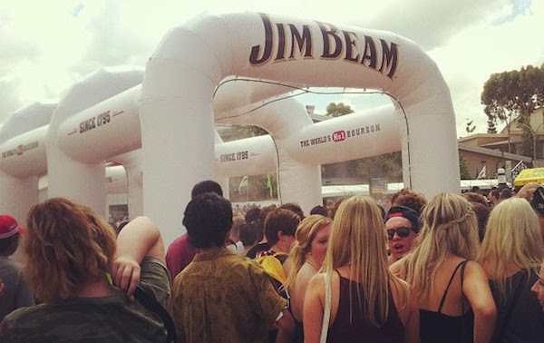 jim beam inflatable structures