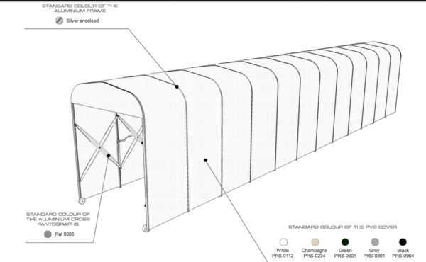 retractable tunnel diagram