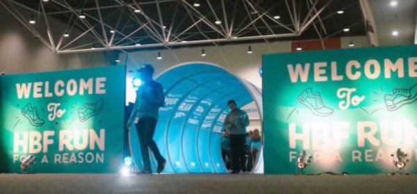 hbf branded stretch tunnel