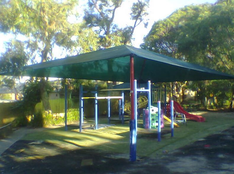 SMFS custom Shade Sails playground