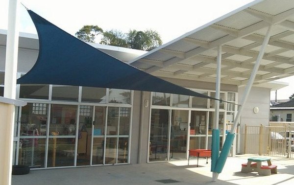 SMFS custom Shade Sails school