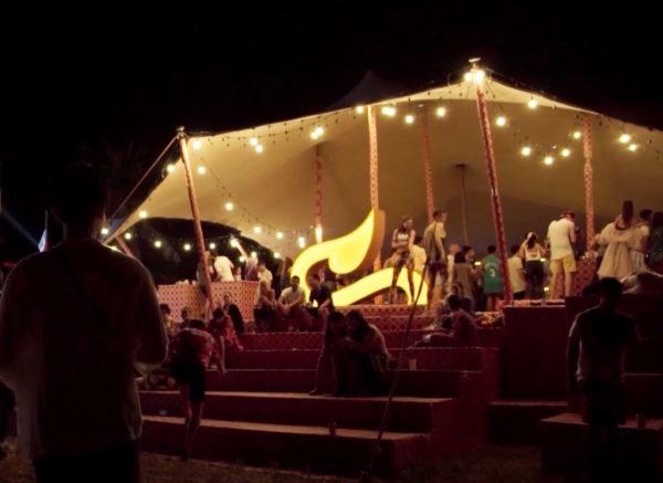Wonderfruit sand tent - versatile festival tents
