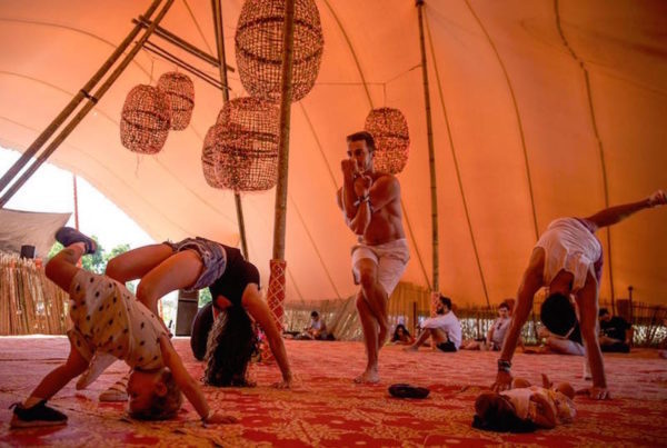 Wonderfruit versatile festival tents