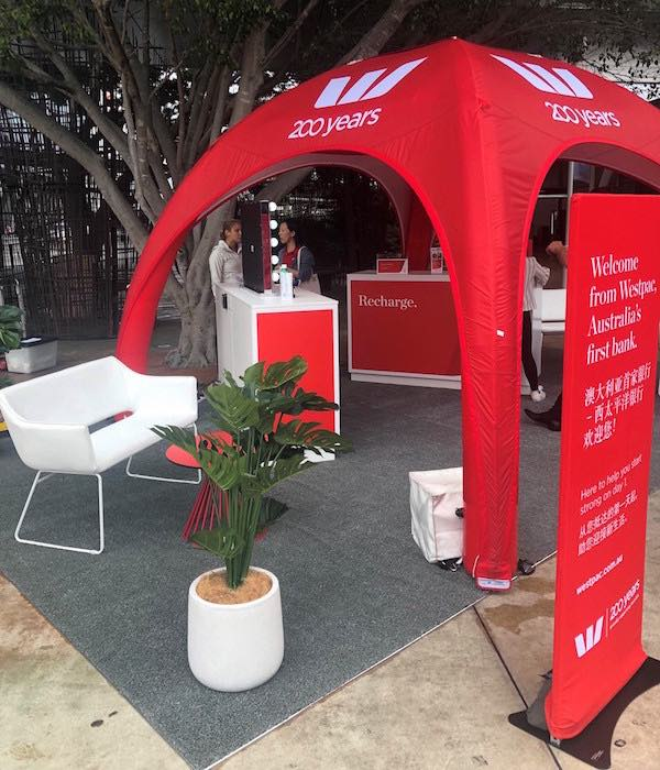 Maverick - Westpac Marquee Brand Activation