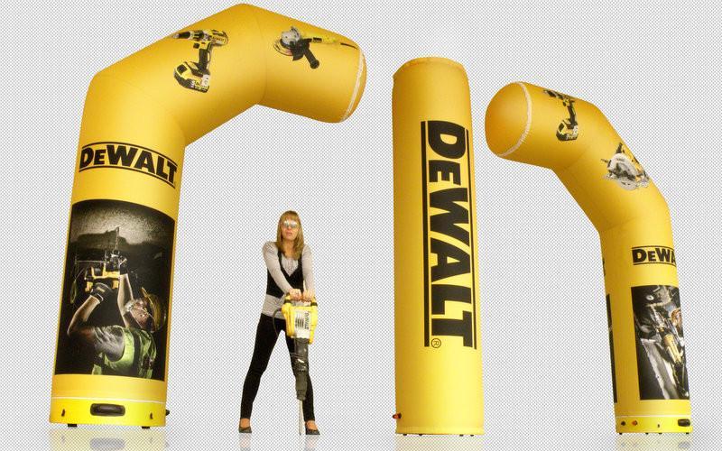 Sealed inflatable structures - dewalt