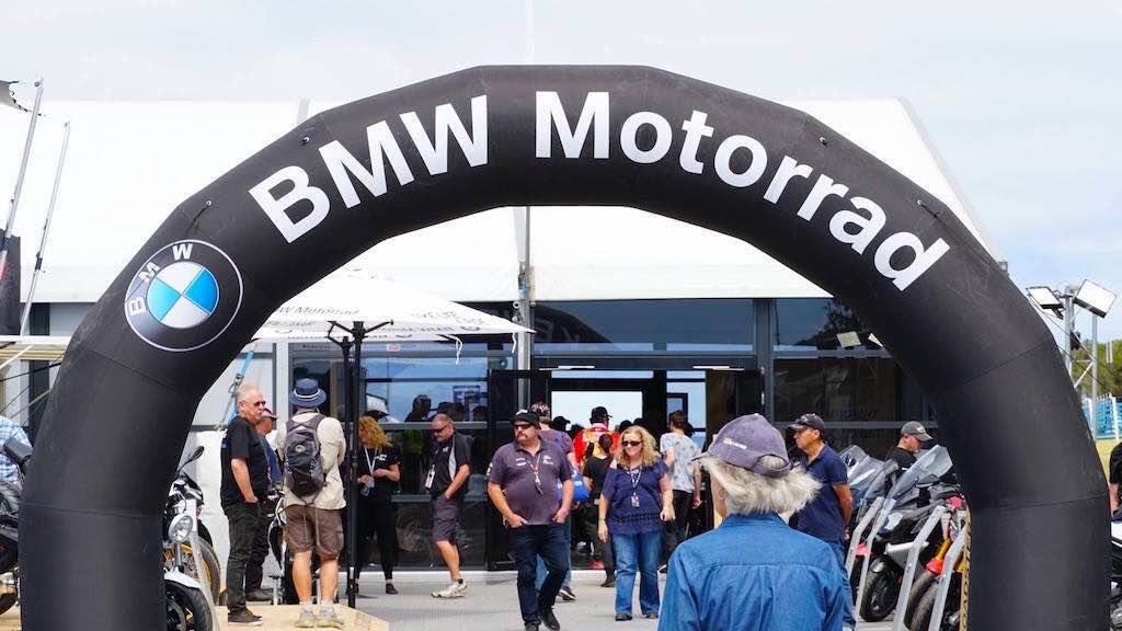 brand activation bmw motorrad