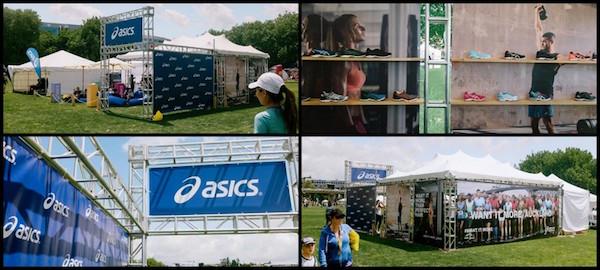 WeAreColab - Asics - Auckland Marathon Collage Nov 2016. Rental business inventory