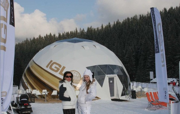igloo geodesic domes - branded