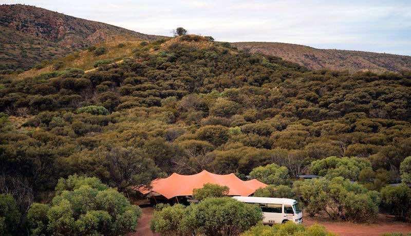 Larapinta Trail Charlies Camp Eco-Friendly Custom Tents