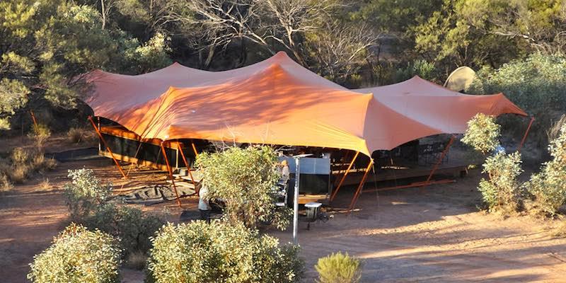 Larapinta Trail Charlies Camp