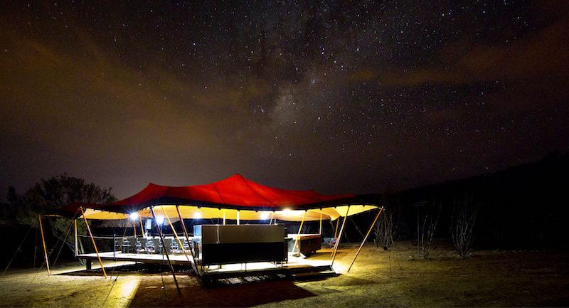 Larapinta Trail Nicks Camp Eco-Friendly Custom Tents