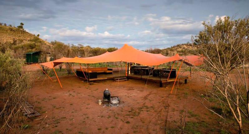Larapinta Trail Semi-Permanent Eco-Friendly Custom Tents