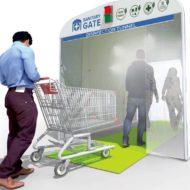 Sanitation Gate - Decontamination Tunnel- Disinfection Tunnel - Shopping