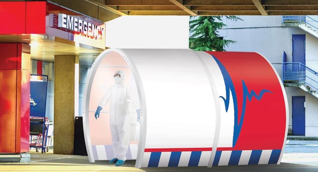SS Sanitation Tunnel Lite Branded Hospital