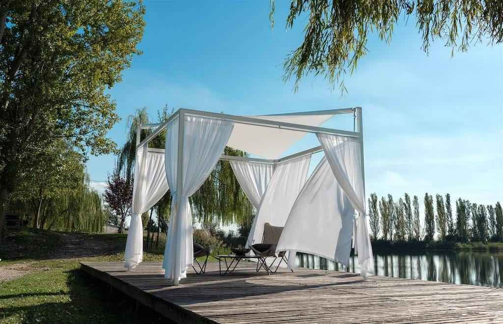 VELA LITE with add on curtains