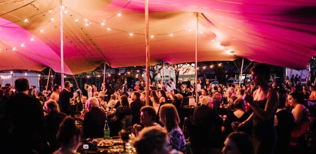 Grafton Jacaranda Festival Willowtree Stretch Tent Rentals Caringa Gala Dinner