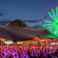 Grafton Jacaranda Festival Stretch Tent Rental