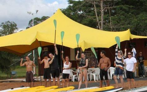 Freeform Tendas Brazil - Stretch tent and shipping container conversion