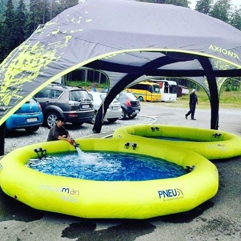 Axion and Inflatable Pool Chill Out Zone