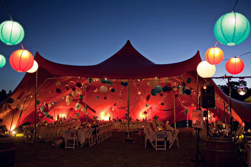 stretch freeform tent and canopy with paper laterns & bedouin tent Archives - Stretch Structures