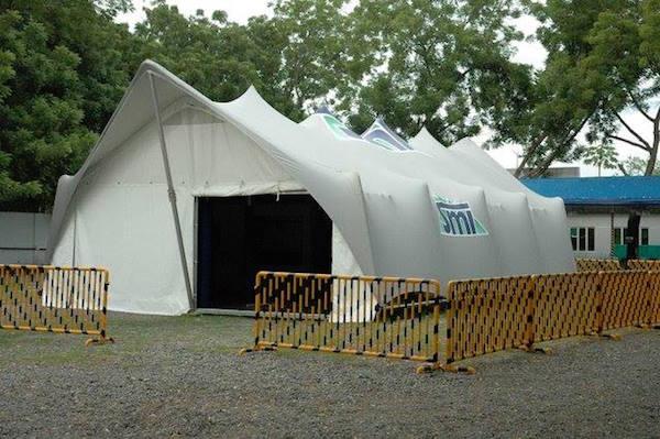 Xstrata SMI - Stretch Tent Custom Pavilion