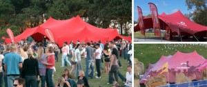 Freeform tent